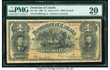 Canada Dominion of Canada $1 31.3.1898 DC-13a PMG Very Fine 20.   HID09801242017  © 2020 Heritage Auctions | All Rights Reserved