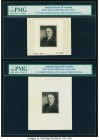 Canada Toronto, ON- Imperial Bank of Canada ABNCo Archive Black & White Vignettes (8); ABNCo Archive Production Letters (2) Circa 1930s PMG Holdered. ...