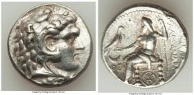 MACEDONIAN KINGDOM. Alexander III the Great (336-323 BC). AR tetradrachm (25mm, 16.99 gm, 3h). XF. Posthumous issue of Carrhae, under Seleucus I Nicat...