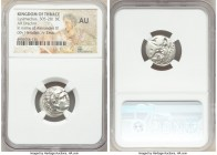 MACEDONIAN KINGDOM. Alexander III the Great (336-323 BC). AR drachm (19mm, 10h). NGC AU. Posthumous issue of Magnesia, under Lysimachus, ca. 301-299 B...