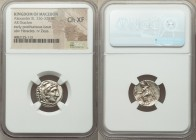 MACEDONIAN KINGDOM. Alexander III the Great (336-323 BC). AR drachm (16mm, 11h). NGC Choice XF. Posthumous issue of Abydus, ca. 310-301 BC. Head of He...