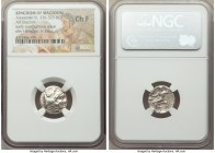 MACEDONIAN KINGDOM. Alexander III the Great (336-323 BC). AR drachm (16mm, 12h). NGC Choice Fine. Early posthumous issue, Sardes, ca. 323-319 BC. Head...