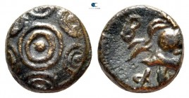 Kings of Macedon. Uncertain mint in Macedon. Philip V 221-179 BC. 1/4 Unit AE