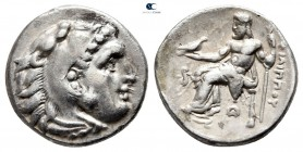 Kings of Macedon. Lampsakos. Philip III Arrhidaeus 323-317 BC. In the types of Alexander III. Struck under Leonnatos, Arrhidaios, or Antigonos I Monop...