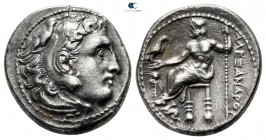 Kings of Macedon. Magnesia ad Maeandrum. Philip III Arrhidaeus 323-317 BC. In the name and types of Alexander III. Struck under Menander or Kleitos, c...