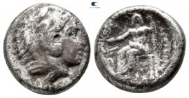 "Kings of Macedon. Babylon. Alexander III ""the Great"" 336-323 BC. Fourrée Didrachm"