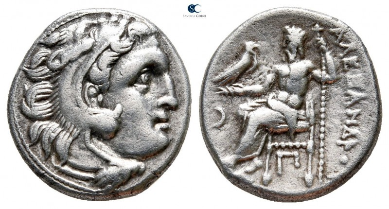 "Kings of Macedon. Kolophon. Alexander III ""the Great"" 336-323 BC. 