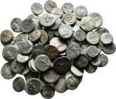 Lot of ca. 80 greek bronze coins / SOLD AS SEEN, NO RETURN!