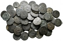 Lot of ca. 55 greek bronze coins / SOLD AS SEEN, NO RETURN!very fine
