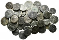 Lot of ca. 65 roman provincial bronze coins / SOLD AS SEEN, NO RETURN!