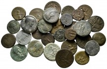 Lot of ca. 30 roman provincial bronze coins / SOLD AS SEEN, NO RETURN!