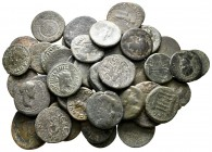 Lot of ca. 46 roman provincial bronze coins / SOLD AS SEEN, NO RETURN!nearly very fine