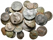 Lot of ca. 27 roman bronze coins / SOLD AS SEEN, NO RETURN!nearly very fine