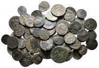 Lot of ca. 65 roman bronze coins / SOLD AS SEEN, NO RETURN!very fine