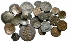 Lot of ca. 25 byzantine bronze coins / SOLD AS SEEN, NO RETURN!nearly very fine