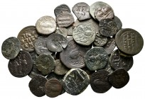 Lot of ca. 44 byzantine bronze coins / SOLD AS SEEN, NO RETURN!very fine