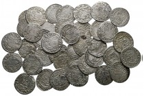Lot of ca. 39 medieval silver coins / SOLD AS SEEN, NO RETURN!very fine