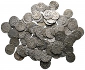 Lot of ca. 99 medieval silver coins / SOLD AS SEEN, NO RETURN!very fine