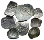 Lot of ca. 8 byzantine bronze coins / SOLD AS SEEN, NO RETURN!very fine