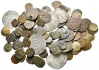 Lot of ca. 90 islamic coins / SOLD AS SEEN, NO RETURN!very fine
