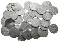 Lot of ca. 30 ottoman silver coins / SOLD AS SEEN, NO RETURN!nearly very fine