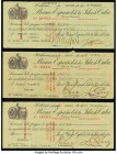 Cuba Trio of Checks from 1918-19 Very Fine. Three Examples. From the El Don Diego Luna Collection  HID09801242017  © 2020 Heritage Auctions | All Righ...