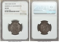 "Isabel II silver ""Guanabacoa"" Proclamation Medal 1834 AU58 NGC, Herrera-41. 25mm. From the El Don Diego Luna Collection  HID09801242017  © 2020 Herita..."