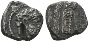 Arados, Phoenicia. AR Shekel, c. 348/7-339/8 BC.  Condition: Very Fine  Weight:3.19 gr Diameter: 15 mm