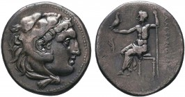 "Kings of Macedon . Alexander III. ""The Great"" (336-323 BC). AR Drachm   Condition: Very Fine  Weight:4.18 gr Diameter: 18 mm"