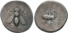 Ionia, Ephesos. AR Drachm, c. 202-150 BC.   Condition: Very Fine  Weight:3.89 gr Diameter: 20 mm