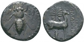 Ionia, Ephesos. AR Drachm, c. 202-150 BC.   Condition: Very Fine  Weight:3.01 gr Diameter: 18 mm