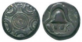 "Kings of Macedon . Alexander III. ""The Great"" (336-323 BC). Ae  Condition: Very Fine  Weight:4.20 gr Diameter: 13 mm"