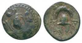 "Kings of Macedon . Alexander III. ""The Great"" (336-323 BC). Ae  Condition: Very Fine  Weight:1.84 gr Diameter: 13 mm"