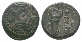 "Kings of Macedon . Alexander III. ""The Great"" (336-323 BC). Ae  Condition: Very Fine  Weight:3.43 gr Diameter: 14 mm"