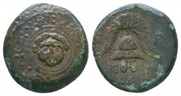 "Kings of Macedon . Alexander III. ""The Great"" (336-323 BC). Ae  Condition: Very Fine  Weight:3.87 gr Diameter: 17 mm"