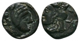 Bithynia, Herakleia Pontika Æ. 4th century BC.  Condition: Very Fine  Weight:2.10 gr Diameter: 12 mm