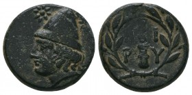 TROAS. Birytis. Ae (4th-3rd centuries BC).  Condition: Very Fine  Weight:5.05 gr Diameter: 18 mm