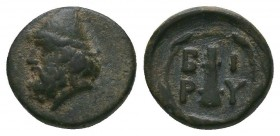 TROAS. Birytis. Ae (4th-3rd centuries BC).  Condition: Very Fine  Weight:1.13 gr Diameter: 11 mm