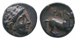 Gargara , Troas. AE c. late 3rd to early 2nd Century BC.  Condition: Very Fine  Weight:0.65 gr Diameter: 8 mm
