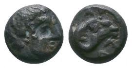 TROAS, Kebren(?). Late 6th-early 5th centuries BC. AR   Condition: Very Fine  Weight:0.60 gr Diameter: 8 mm