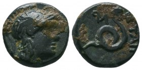 KINGS OF PERGAMON. Time of Attalos I - Eumenes II (Circa 241-159 BC). Ae.  Condition: Very Fine  Weight:3.60 gr Diameter: 15 mm