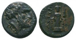 MYSIA. Astrya. Tissaphernes. Ae (Circa 400-395). ?? RARE!  Condition: Very Fine  Weight:1.73 gr Diameter: 12 mm
