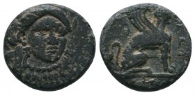 TROAS. Gergis. Ae (4th century BC).  Condition: Very Fine  Weight:3.46 gr Diameter: 15 mm
