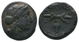 CILICIA. Soloi-Pompeiopolis. Ae (2nd-1st centuries BC).  Condition: Very Fine  Weight:3.56 gr Diameter: 16 mm