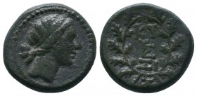 MYSIA. Kyzikos. Ae (2nd-1st centuries BC).  Condition: Very Fine  Weight:6.38 gr Diameter: 18 mm