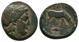 TROAS. Neandria. Ae (4th century BC). RARE!  Condition: Very Fine  Weight:7.13 gr Diameter: 20 mm