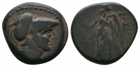 Greek Coins. Ae (Circa 155-145 BC).   Condition: Very Fine  Weight:5.81 gr Diameter: 19 mm