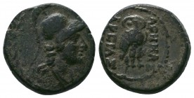 Pergamon , Mysia. AE c. 200-133.  Condition: Very Fine  Weight:6.08 gr Diameter: 19 mm