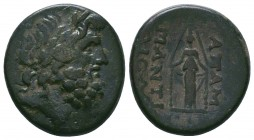 Bithynia, Apameia. ; Bithynia, Apameia; 133-48 BC, AE  Condition: Very Fine  Weight:9.06 gr Diameter: 22 mm