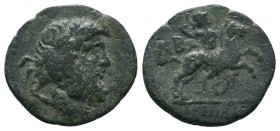 PISIDIA. Isinda. Ae (2nd-1st centuries BC).  Condition: Very Fine  Weight:3.22 gr Diameter: 19 mm